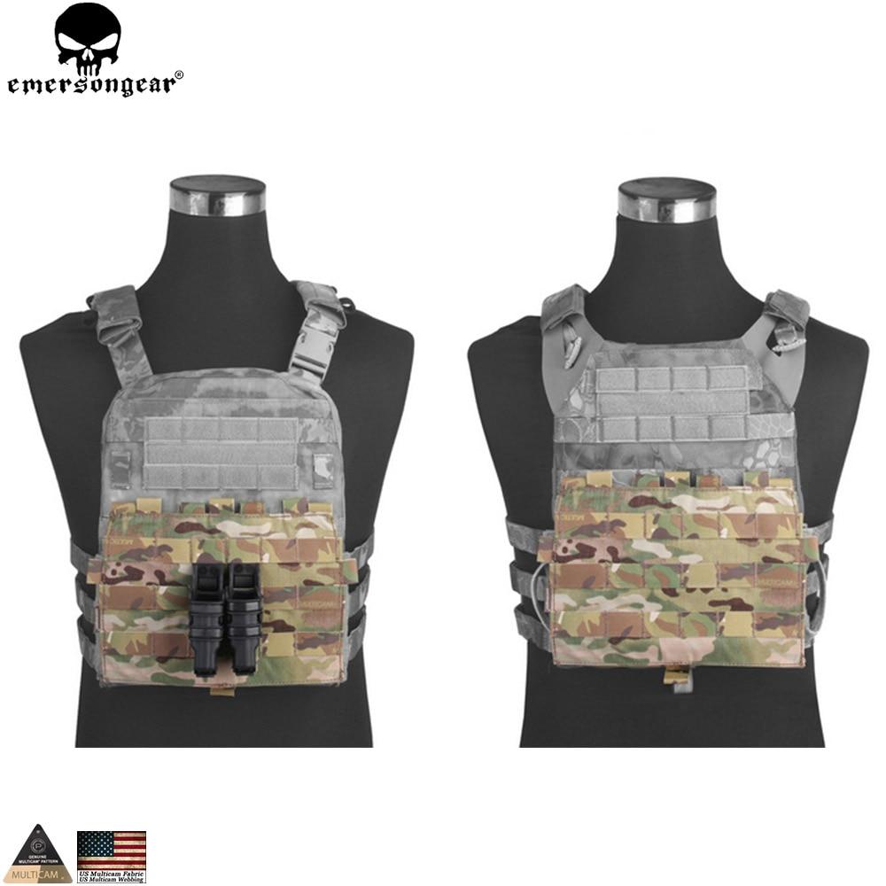 EMERSONGEAR MOLLE Panel For AVS JPC 2.0 VEST Hunting Vests Accessories Multicam Black EM9288
