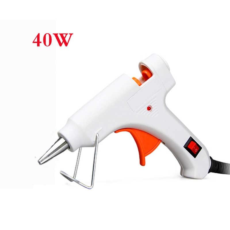 Petpig 20-40 W Hot Melt Lijmpistool 110-220 V DIY Power Tool Cover Hand Tool Kleine ambachtelijke Projecten Hot Lijmpistool 7mm X 20mm Lijmstift