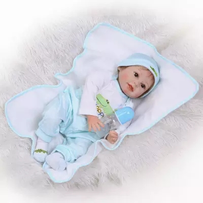 2255cm Soft Silicone Reborn Baby Doll Toys  Newborn Princess Toddler Dolls Fashion Birthday Gift Play House Toy new fashion design reborn toddler doll rooted hair soft silicone vinyl real gentle touch 28inches fashion gift for birthday