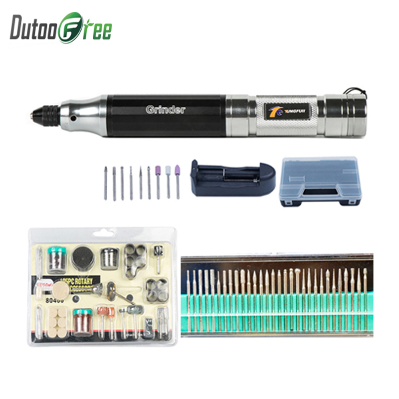 Dutoofree Grinder Mini Drill Mini Engraving Cordless Drill With Drill Inalambrico Engraver Electric Rotary Tool Engraving Pen