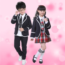 Children's Class Suits Autumn and Winter Girl's School Uniforms Kindergartens British School Uniform