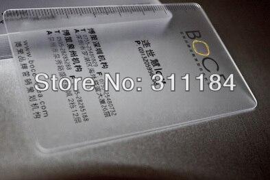 En Plastique Qr Code Carte De Visite Pvc