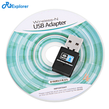 RSExplorer Mini USB WiFi Adapter 300Mbps Wifi Receiver Exterior Wi-fi Community Card Transportable Adaptador wi-fi Dongle802.11n/b/g