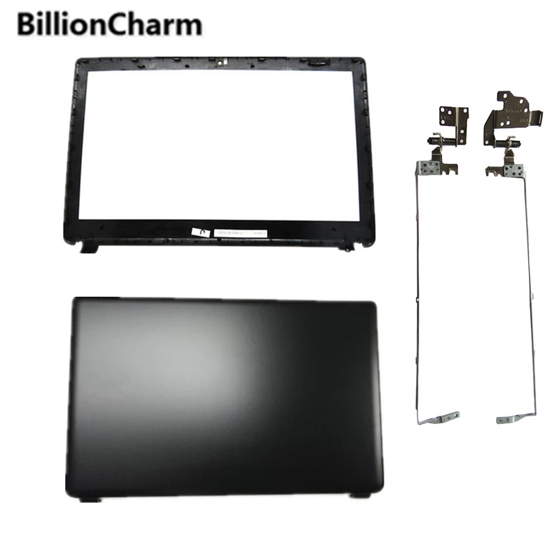 NEW For Acer Aspire E1-510 E1-530 E1-532 E1-570 E1-532 E1-572G E1-572 Black LCD BACK COVER/LCD Bezel Cover/LCD Hinges