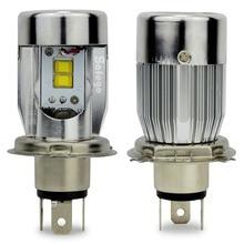 2800LM 25 Вт H4 светодиодные фары лампы Привет/Lo Автоматический Свет лампы Flip Chip 6000 К White12V светодиодные лампы фар противотуманные фары свет