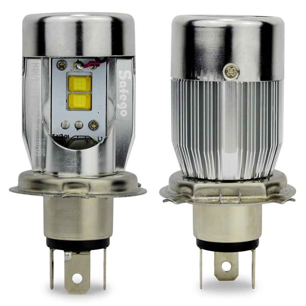 buy safego 2800lm 25w h4 led headlights lamp hi lo auto led light bulbs lamp. Black Bedroom Furniture Sets. Home Design Ideas