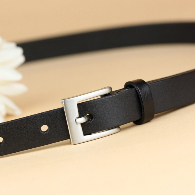 New fashion genuine leather belts for women high quality cowhide belt top quality strap female casual waistband free shipping