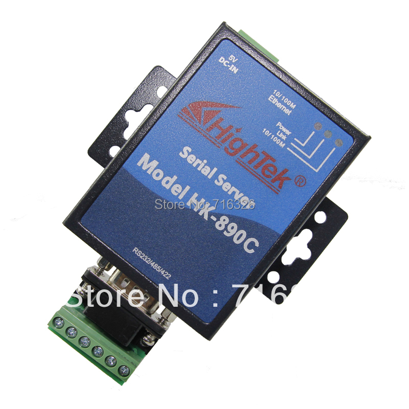 RS232 RS422 RS485 to TCP/IP Ethernet Serial Device Server Adapter Converter конвертер aten ic485sn rs232c to rs485 rs422