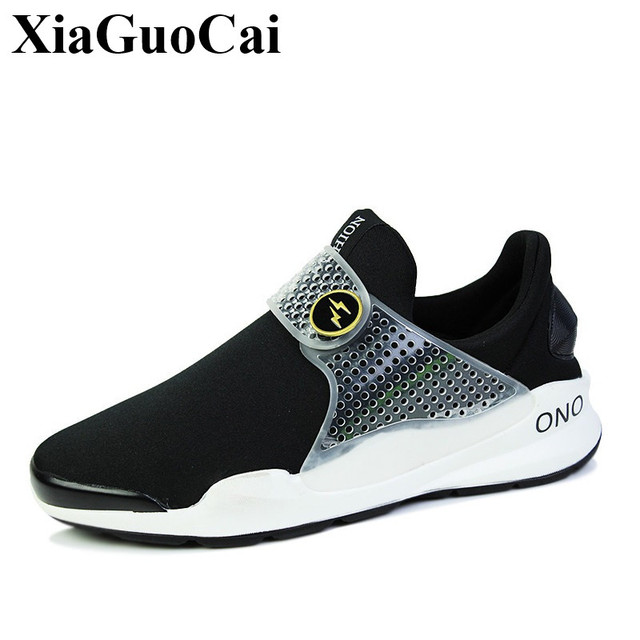 New Fashion Shoes Men Unisex Breathable Mesh Soft Sole Casual Shoes Platform Antiskid Flats Slip-on Footwear Couple Shoes H13935