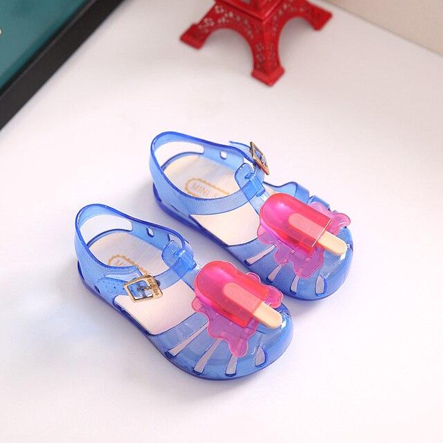 ... Mini Melissa Jelly Sandals For Baby Girls ice cream Children Summer  Cute Cartoon Beach Shoes Infantil Sandalia. Previous. Next a134d8e66a0f