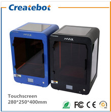 Blue Colored Max 3D Printer with dual nozzle touch screen