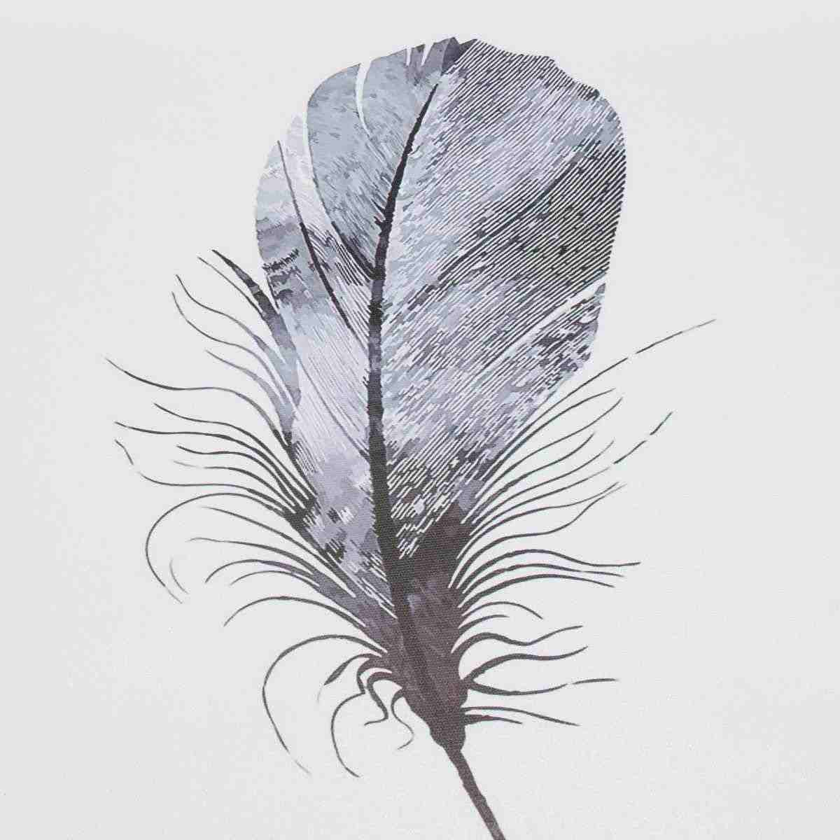 40x50 см, современный скандинавский минималистичный абстрактный холст для рисования, Безрамная краска с оленьими перьями, плакат для дома, Настенная картина, Декор