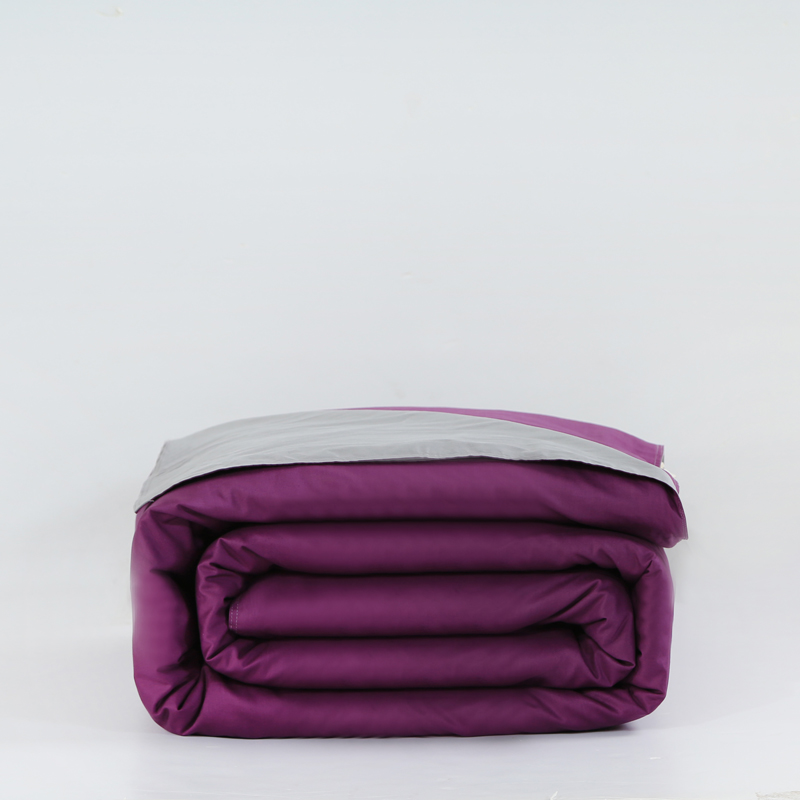 Best Purple Gray Duvet Covers Comforter Set 1pcs 100