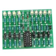 DIY Kit 4Bit паролем костюм CD4070 DC 5 В электронный комплект эксперимент для профессиональных учебных электронных энтузиастов