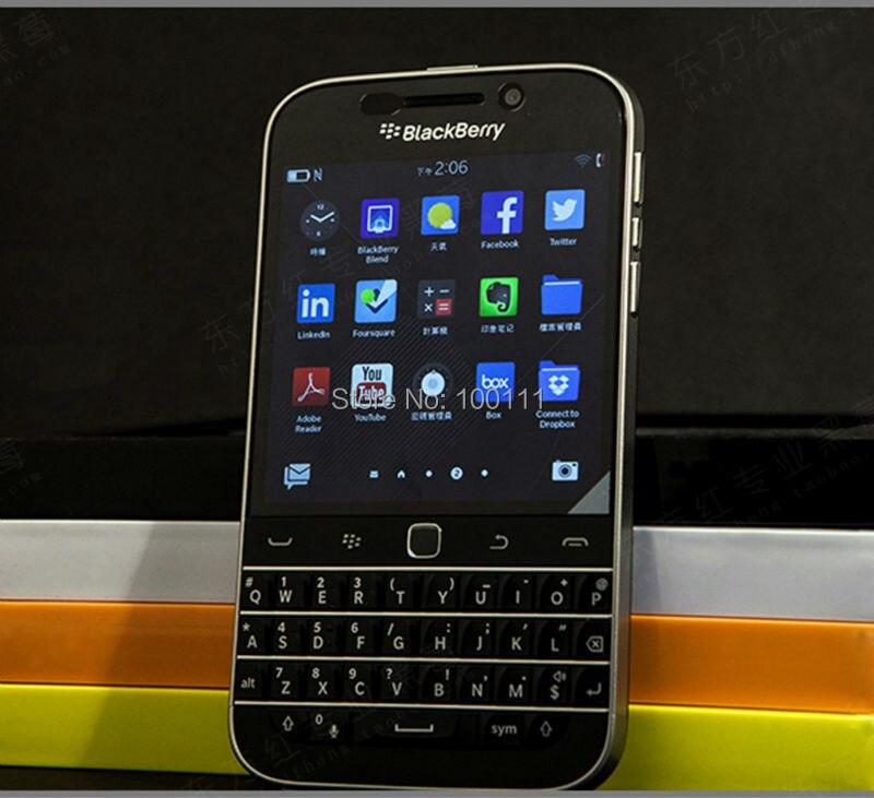 Original BlackBerry Classic blackberry Q20 mobile Phone 2GB RAM 16GB ROM 8MP Camera unlocked ,Free DHL-EMS Shipping mobile phone