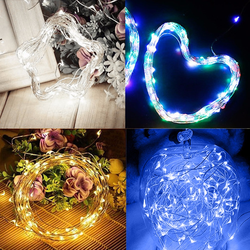 200 LED Outdoor Solar Powered String Light Garden Christmas Party Fairy Lamp 20m 2018 New solar powered 0 64w 10lm 200 led blue light garden christmas party string fairy light blue 20 5m
