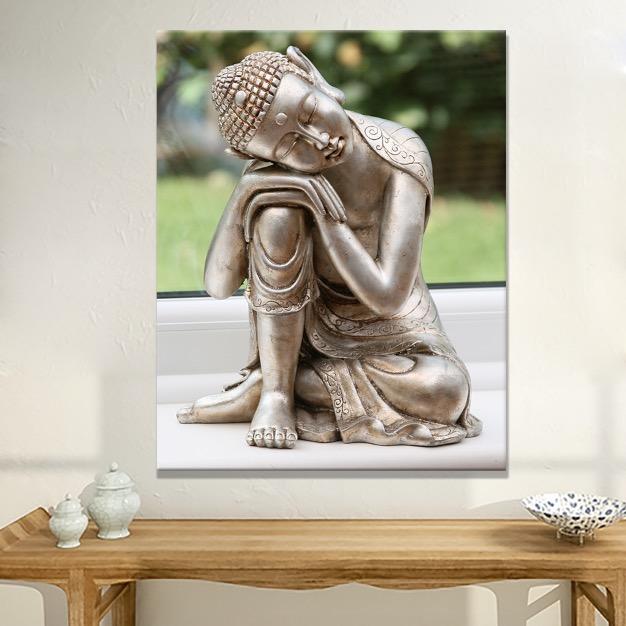 Buddha Bilder Leinwand-kaufen Billigbuddha Bilder Leinwand Partien ... Buddha Deko Wohnzimmer