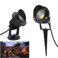10pcs COB Flood Lighting Led Outdoor 10W Outdoor Flood Light 12V 110V 220V Spike Floodlight Led