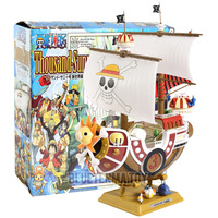 Anime One Piece Thousand Sunny Boat Pirate Ship Figure PVC Action Figure Toys Collectible Model Toy Gifts