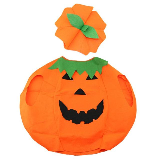 1 Set Party Supplies Pumpkin Hat And Costumes Halloween Cap