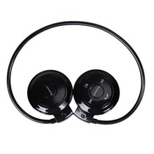 Portable earphone Mini 503 FM Radio Wireless Bluetooth earphone Sport Music Stereo Earpics Micro SD Card Slot Headset mini503