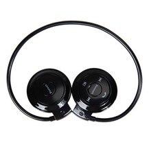 Przenośne słuchawki Mini 503 Radio FM bezprzewodowe słuchawki Bluetooth Sport muzyka Stereo Earpics gniazdo karty micro sd zestaw słuchawkowy mini503