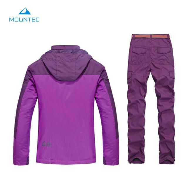 MOUNTEC Outdoor Fishing Clothes Set Camping Hiking Waterproof Windproof Coat Women's Jacket Set Windbreaker Clothes For Fishing