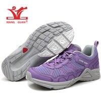גואן שיאנג אישה נעלי ריצה לנשים 2018 נחמד מאמני אתלטי נעל ספורט Zapatillas סניקרס טיולים רגליים חיצוני זול סגול