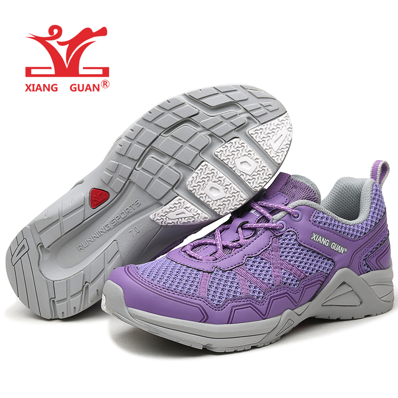 XIANG GUAN Woman Running Shoes For Women 2018 Nice Athletic Trainers Purple Zapatillas Sport Shoe Outdoor Walking Sneakers Cheap new man running shoes for men mesh run shoe sports sneakers agan retro classic zapatillas deportivas athletic outdoor trainers