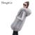 Chaleco de piel de piel de piel de zorro 2016 nueva moda de las mujeres versión Coreana de la capa larga