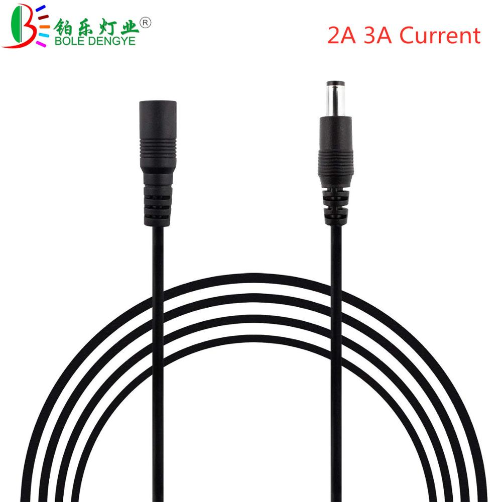 DC 12V Power Extension Cable 5.5*2.1mm Female Male Wire Cord Connection 1M 3M 5M 10M Extend Cable For CCTV Camera Home Appliance