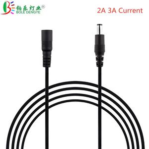 DC 12V Power Extension Cable 5.5*2.1mm F