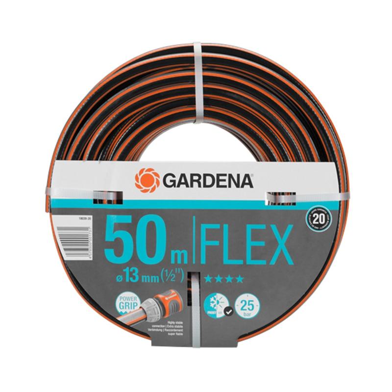 Garden Hose GARDENA Flex (18039-20) шланг gardena flex 9x9 18039 20 000 00 1 2 50м