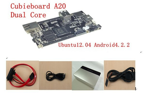 dual core ARM cortex A7 dual-core CPU with luxury package on promotion Cubieboard A20