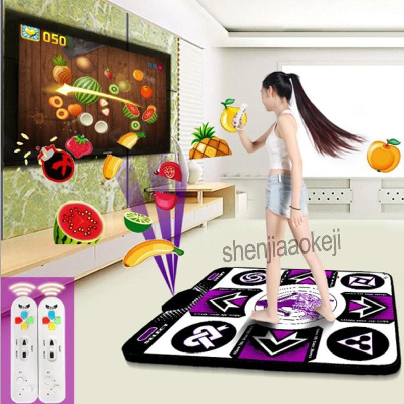 Wireless dance dance blanket PC interface or USB interface for computer TV computer dual use somatosensory dance machine 1pc