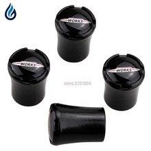 Для MINI Cooper S JCW логотип R50 R52 R53 R55 R56 R57 R58 R59 R60 R61 R62 F55 F56 стайлинга автомобилей колеса шин Клапан стебли заглушки