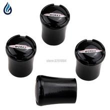 цена на For MINI Cooper JCW Logo R50 R52 R53 R55 R56 R57 R58 R59 R60 R61 R62 F55 F56  Car Styling Wheel Tire Valve Stems Caps Cover
