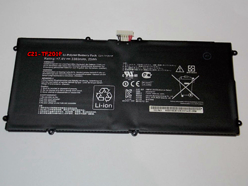 7.4v 3380mah 25WH New Genuine C21-TF201P Battery for Asus Eee Pad Transformer Pad Prime Tf201