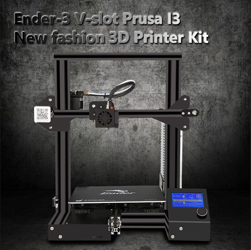 Global Pre-Sale Ender-3 3D Pinter KIT Large Print Size 220*220*250mm Continuation power  ...