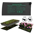 Нагревательный коврик для саженцев 50x25 см  водонепроницаемый стартовый коврик для выращивания семян растений  1 шт.