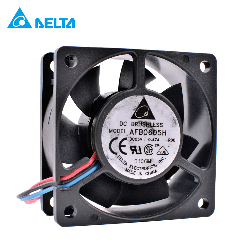 COOLING REVOLUTION AFB0605H 6cm 6025 <font><b>60mm</b></font> <font><b>fan</b></font> <font><b>5V</b></font> 0.47A USB <font><b>fan</b></font> <font><b>5V</b></font> large amount of air cooling <font><b>fan</b></font> image