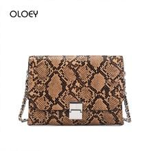 Luxury Handbag Women Designer Bags For Women 2019 Leather Flap Clutch Purse Chain Serpentine Shoulder Messenger Bags Sac A Main