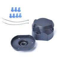 Прочный 12 в 7 Pin пластиковый Европейский трейлер розетка буксировочный бар Электрический разъем с резиновым кольцом