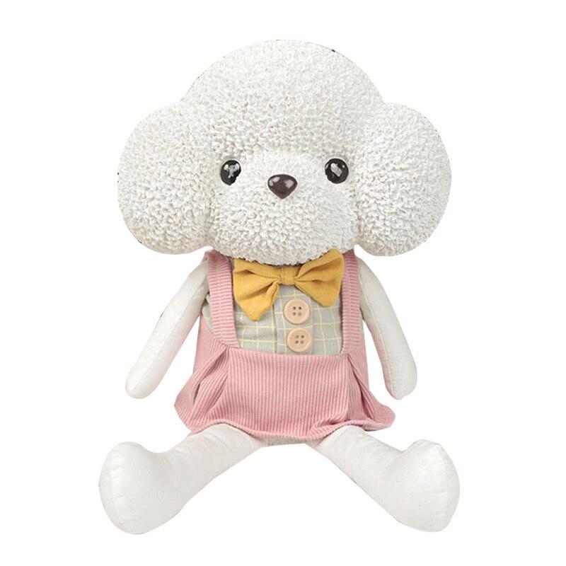 Dessin animé Animal Curl caniche fronde poupée modèle tirelire tirelire créative décoration de la maison accessoires enfants cadeaux d'anniversaire