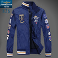 2016 Brand  men jacket clothes Chaquetas hombre aeronautica militare ,Trench Outerwear Coat Air Force 1 winter jaqueta masculina