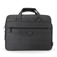Volasss yüksek kaliteli erkek iş evrak çantası Laptop çantaları naylon kumaş su geçirmez çanta beyefendi omuz ofis iş paketi