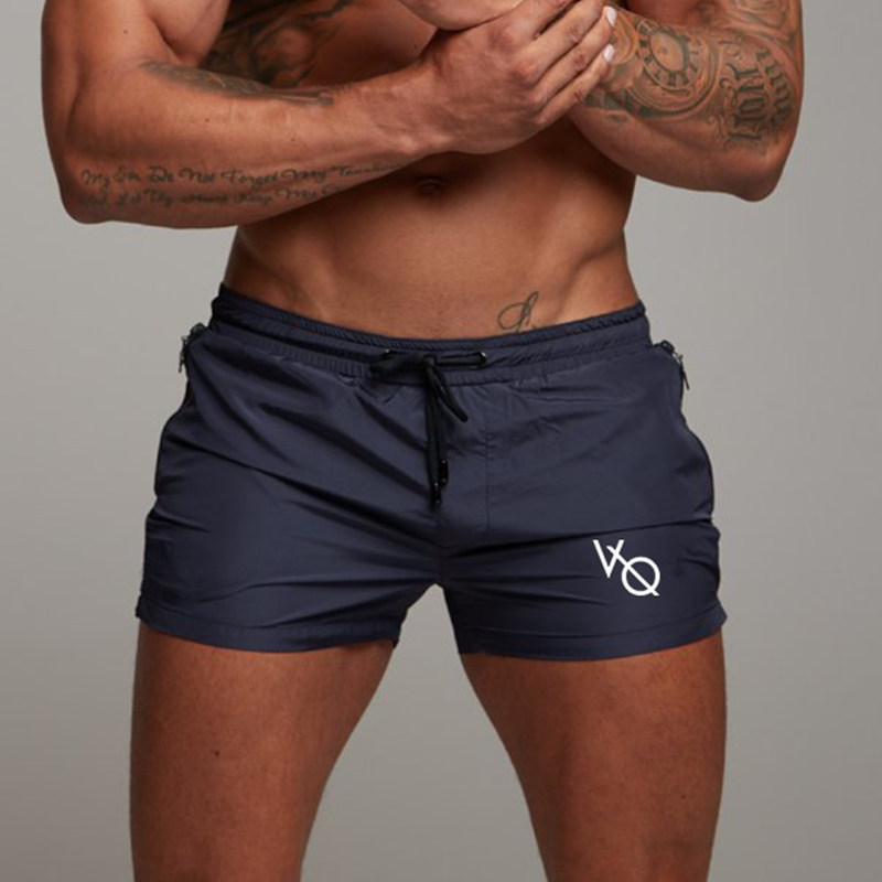 2019 New Men Gyms Fitness Bodybuilding   Shorts   Mens Summer Casual Cool   Short   Pants Male Jogger Workout Beach Brand Breechcloth