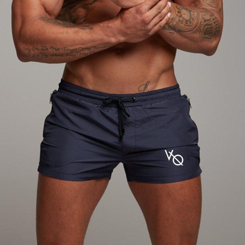 2019 Novos Homens de Fitness Musculação Academias Shorts Mens Casual Verão Fresco Calças Curtas Treino Atleta Masculino Praia Marca Breechcloth