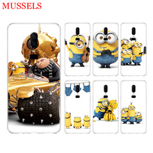 Minions Cute Cool Phone Back Case for OnePlus 7 Pro 6 6T 5 5T 3 3T 7Pro Art Gift Patterned Customized Cases Cover Coque Capa