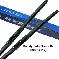 Car Wiper Blade Windshield Wipers Rubber Fit Hook Arms For Hyundai Santa Fe 2011 From 1999 to 2017